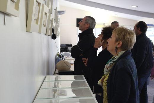 Ana Maria Asan - En vibration - Exposition Office de Tourisme Pélissanne, France 2019