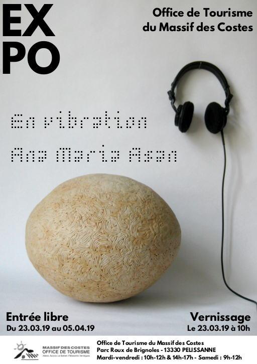 Ana Maria Asan : Exposition En Vibration - 2019